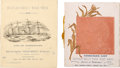 Transportation:Nautical, Two Wild West Passenger Lists.... (Total: 2 Items)