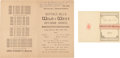 Miscellaneous:Ephemera, Two Wild West Souvenirs from England. ... (Total: 2 Items)