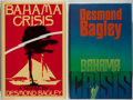 Books:Mystery & Detective Fiction, Desmond Bagley. Bahama Crisis. Two copies: one first British and one first American edition. Shelf cock to Briti... (Total: 2 Items)
