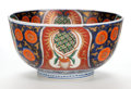 Asian:Japanese, A JAPANESE IMARI PORCELAIN BOWL. Maker unknown, Imari, Japan, circa1900. Unmarked. 4-1/2 inches high x 8-1/2 inches diamete...