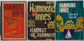 Books:Mystery & Detective Fiction, Hammond Innes. Three Books, Including One First Edition. The firstedition is Solomon's Seal, which has an inked over pr...(Total: 3 Items)