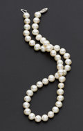 Estate Jewelry:Pearls, Chinese Freshwater Pearl Necklace. ...