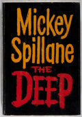 Books:Mystery & Detective Fiction, Mickey Spillane. INSCRIBED / SIGNED. The Deep. Dutton, 1961.First edition. Inscribed and signed by the author o...