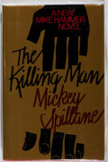 Books:Mystery & Detective Fiction, Mickey Spillane. INSCRIBED / SIGNED. The Killing Man.Dutton, 1989. First trade edition. With a three-quarter ...