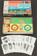 "Baseball Cards:Sets, 1970 Milton Bradley ""Official Baseball Card Game"" In Original Box. ..."