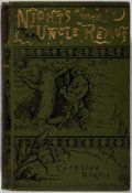 Books:Literature Pre-1900, Joel Chandler Harris. Nights With Uncle Remus. Myths andLegends of the Old Plantation. Houghton, Mifflin, 1899...