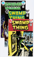 Bronze Age (1970-1979):Horror, Swamp Thing Group (DC, 1973-88) Condition: Average FN/VF....(Total: 33 Comic Books)