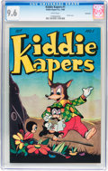 Golden Age (1938-1955):Funny Animal, Kiddie Kapers #1 Vancouver pedigree (Kiddie Kapers, 1946) CGC NM+9.6 White pages....