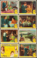 "Movie Posters:Drama, National Velvet (MGM, 1944). Lobby Card Set of 8 (11"" X 14"").. ...(Total: 8 Items)"