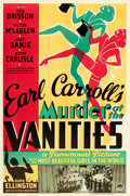"""Movie Posters:Mystery, Murder at the Vanities (Paramount, 1934). One Sheet (27"""" X 41"""")....."""