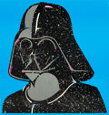 """Movie Posters:Science Fiction, Return of the Jedi: Starry Vader Helmet (Sales Corp. of America,1983). Mail-in Premium Poster (24"""" X 25.5""""). From the col..."""