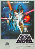 "Movie Posters:Science Fiction, Star Wars (20th Century Fox, 1978). German A0 (33"" X 46""). Fromthe collection of the late John L. Williams, noted Star Wa..."