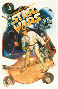 """Movie Posters:Science Fiction, Star Wars: The First Ten Years (Kilian Enterprises, 1987). Autographed Limited Edition Print (27"""" X 41""""). From the collect..."""