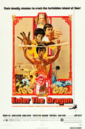 "Movie Posters:Action, Enter the Dragon (Warner Brothers, 1973). One Sheet (27"" X 41"").Action.. ..."
