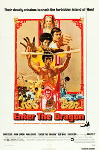 """Enter the Dragon (Warner Brothers, 1973). One Sheet (27"""" X 41""""). Action"""