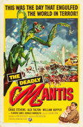 """Movie Posters:Science Fiction, The Deadly Mantis (Universal International, 1957). One Sheet (27"""" X41"""").. ..."""