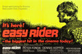 "Movie Posters:Drama, Easy Rider (Columbia, 1969). British Quad (27"" X 40"") Day-Glo SilkScreen Style.. ..."