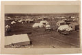 "Photography:Cabinet Photos, Three Guthrie, Oklahoma Land Run Photographs: ""South Guthrie,""""Camp Guthrie, I.T. (Indian Territory),"" and ""Street Scene in G...(Total: 3 Items)"