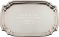 Political:Presidential Relics, Gerald Ford: Silver Presentation Tray....