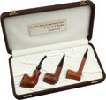 Political:Presidential Relics, Gerald Ford: Three Presentation Gift Pipes.... (Total: 3 Items)