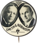 Political:Pinback Buttons (1896-present), Smith & Robinson: Great Jugate....