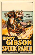 "Movie Posters:Western, Spook Ranch (Universal, 1925). Window Card (14"" X 22""). Western....."