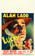 "Movie Posters:Crime, Lucky Jordan (Paramount, 1942). Window Card (14"" X 22"").. ..."