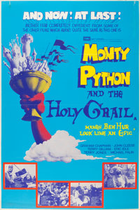 "Monty Python and the Holy Grail (EMI, 1975). British Bus Shelter (40"" X 59.75"")"