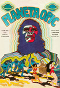 "Movie Posters:Science Fiction, Planet of the Apes (20th Century Fox, 1970). Czech Poster (11"" X16"").. ..."