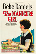 "Movie Posters:Romance, The Manicure Girl (Paramount, 1925). One Sheet (25.5"" X 38.5"").. ..."