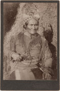 Photography:Cabinet Photos, Geronimo: Evocative Cabinet Card....