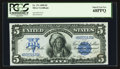 Large Size:Silver Certificates, Fr. 271 $5 1899 Silver Certificate PCGS Superb Gem New 68PPQ.. ...