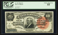 Large Size:Silver Certificates, Fr. 293 $10 1886 Silver Certificate PCGS Choice About New 55.. ...