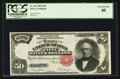 Large Size:Silver Certificates, Fr. 331 $50 1891 Silver Certificate PCGS Extremely Fine 40.. ...