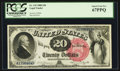 Large Size:Legal Tender Notes, Fr. 135 $20 1880 Legal Tender PCGS Superb Gem New 67PPQ.. ...