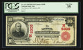 National Bank Notes:Ohio, Marion, OH - $10 1902 Red Seal Fr. 613 The Marion NB Ch. # (M)6308. ...