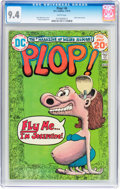 Bronze Age (1970-1979):Humor, Plop! #6 (DC, 1974) CGC NM 9.4 White pages....