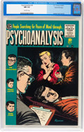Golden Age (1938-1955):Horror, Psychoanalysis #4 Gaines File pedigree 9/12 (EC, 1955) CGC NM 9.4Off-white pages....