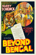 "Movie Posters:Adventure, Beyond Bengal (Showmens Pictures, 1934). One Sheet (27"" X 41"")Style A.. ..."