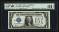 Small Size:Silver Certificates, Fr. 1604* $1 1928D Silver Certificate. PMG Choice Uncirculated 64 EPQ.. ...