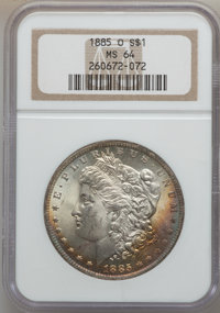 1885-O $1 MS64 NCS. NGC Census: (78885/30753). PCGS Population (62342/19725). Mintage: 9,185,000. Numismedia Wsl. Price...