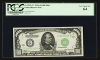 Fr. 2212-G* $1000 1934A Mule Federal Reserve Note. PCGS Very Choice New 64