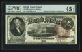 Large Size:Legal Tender Notes, Fr. 54 $2 1880 Legal Tender PMG Choice Extremely Fine 45 EPQ.. ...