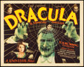 "Movie Posters:Horror, Dracula (Universal, 1931). Title Lobby Card (11"" X 14"").. ..."