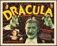 "Dracula (Universal, 1931). Title Lobby Card (11"" X 14"")"