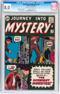 Silver Age (1956-1969):Horror, Journey Into Mystery #79 (Marvel, 1962) CGC VF 8.0 Off-white towhite pages....