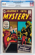 Silver Age (1956-1969):Horror, Journey Into Mystery #74 (Marvel, 1961) CGC VF 8.0 Off-white to white pages....