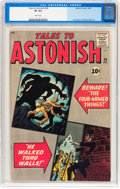 Silver Age (1956-1969):Mystery, Tales to Astonish #26 (Marvel, 1961) CGC VF 8.0 White pages....