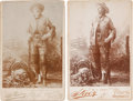 """Photography:Cabinet Photos, William F. """"Buffalo Bill"""" Cody: Pair of Portraits.... (Total: 2Items)"""