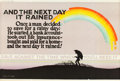 "Movie Posters:Miscellaneous, And the Next Day It Rained (1923). Mather and Company Motivational Poster (41.5"" X 28"").. ..."